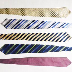 Bundle of Men's Silk Neck Ties